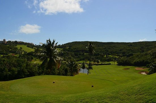El Conquistador Golf Course: Elevation changes