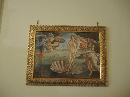 Hotel Santa Croce: Detalle de la decoración