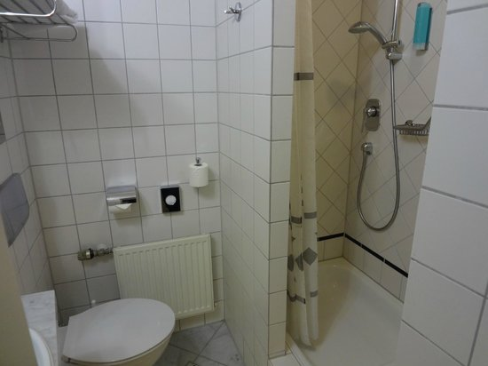 Hotel Cristall: バスルーム