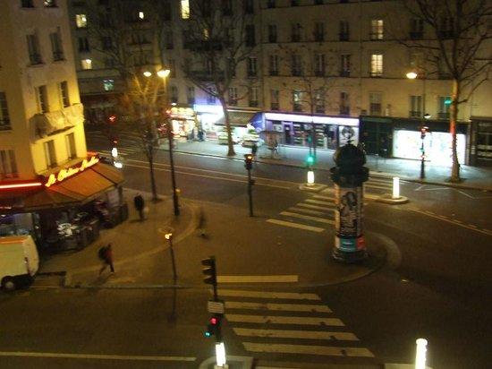 Ibis Styles Paris Gare de l'Est Chateau Landon: Vista dalla finesta
