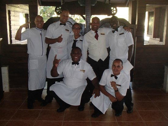 Dreams Punta Cana Resort & Spa: PC Oceana Breakfast - super team!!!