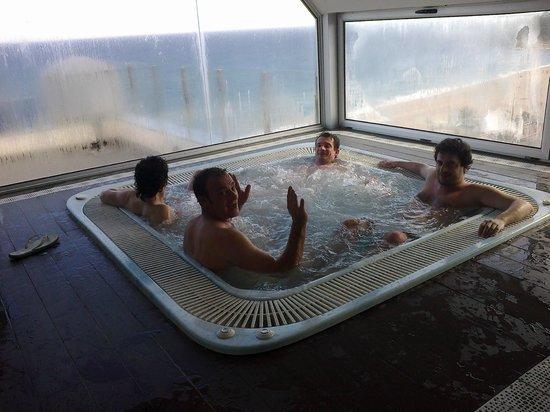 URH Hotel Excelsior: super vasca idromassaggio
