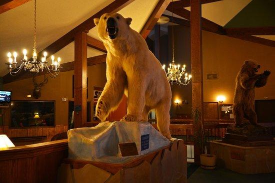 Bears in the lobby
