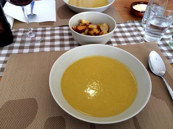 El Bacaro: Pumpkin leek & potato soup