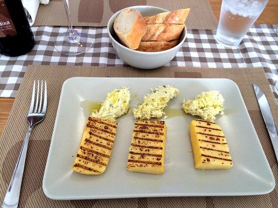El Bacaro: Cod with creamed polenta