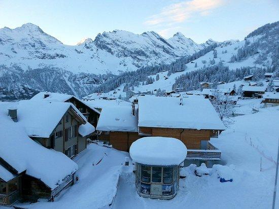 Hotel Jungfrau: Aussicht vom 1. Stock