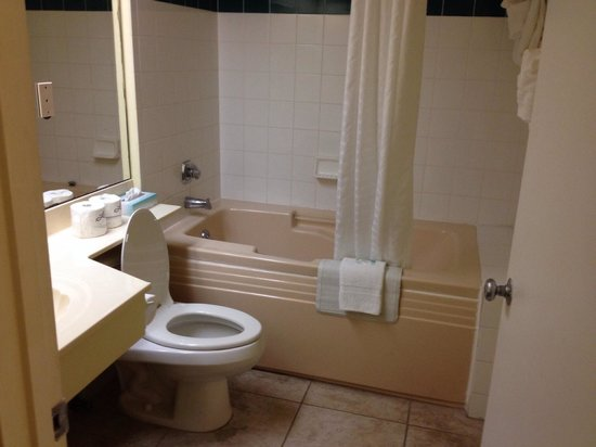 El Caribe Resort and Conference Center : Master bath with very deep spa tub