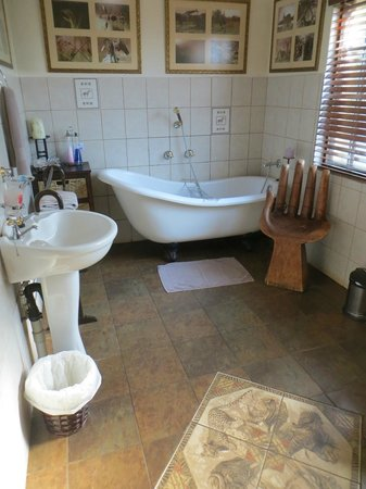 Trees Too Guest Lodge : La grande salle de bain