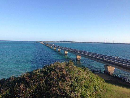 Ikema Ohashi Bridge: 展望台から