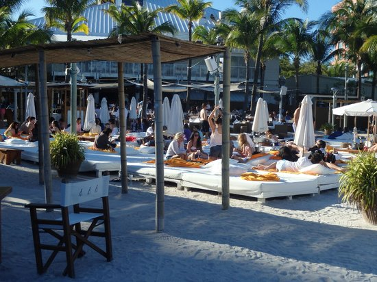 Nikki Beach Miami Beds And Cabanas