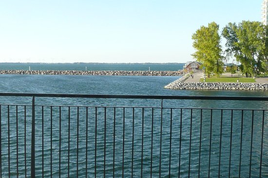 Delta Hotels by Marriott Kingston Waterfront: Waterside from our room