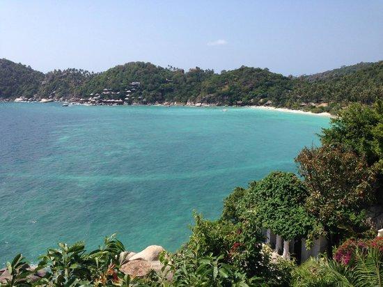 Jamahkiri Resort & Spa: View from balcony