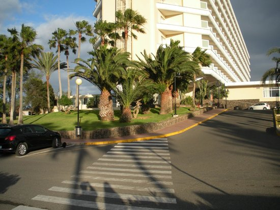 ClubHotel Riu Oliva Beach Resort : Hotel entrance