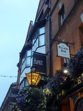 The Fleet Street Hotel: Aussenansicht des Hotels