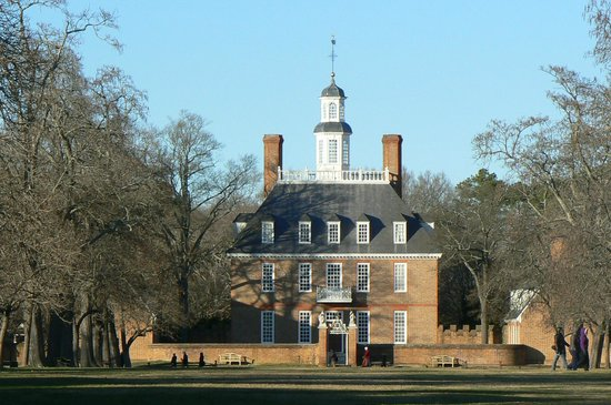 Colonial Williamsburg : Governers Mansion