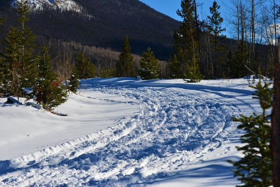 Sombrero Stables at Snow Mountain Ranch: Our path