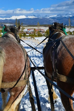 Sombrero Stables at Snow Mountain Ranch: Our view