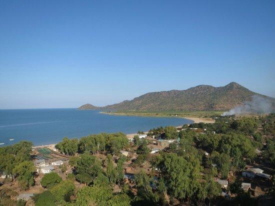 Salima, Malawi: View of Lifuwu