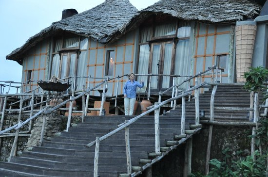 andBeyond Ngorongoro Crater Lodge: Main Lodge over looking Ngorongoro Crater