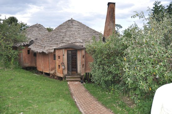 andBeyond Ngorongoro Crater Lodge: Guest Cottage Entrance