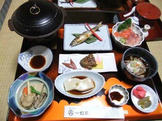 Matsumoto: 松本旅館03夕食