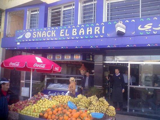 Snack El Bahri : Restaurant al Bahri