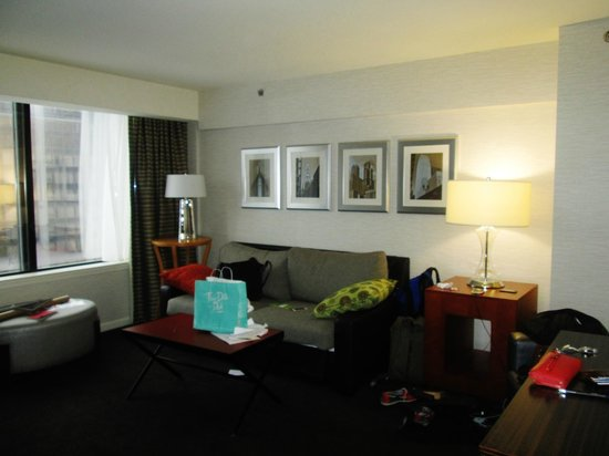 MileNorth, A Chicago Hotel: Living Area