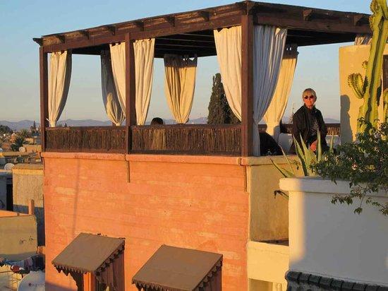 Riad Kheirredine: Takterrass