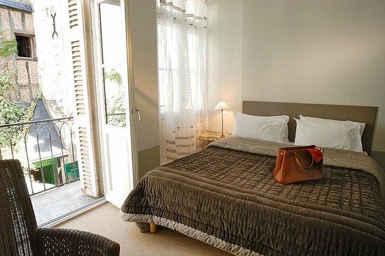 Hotel L'adresse : Chambre avec balcon