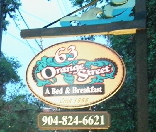 63 Orange Street Bed and Breakfast: This says it all