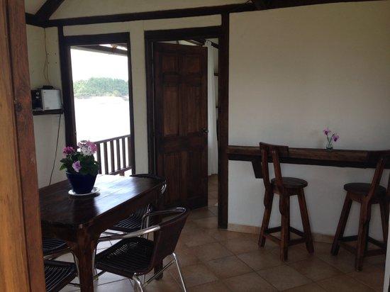 Hostal & Cabana El Trebol: Dining room