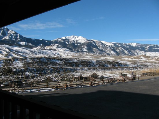 BEST WESTERN PLUS By Mammoth Hot Springs: View from the Balcony
