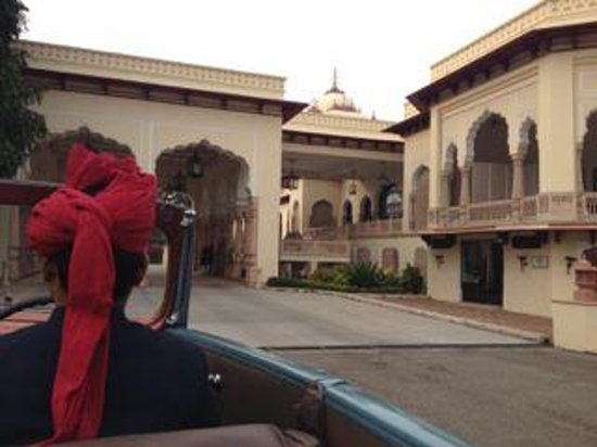 Rambagh Palace: Go for a ride in your choice of classic cars!
