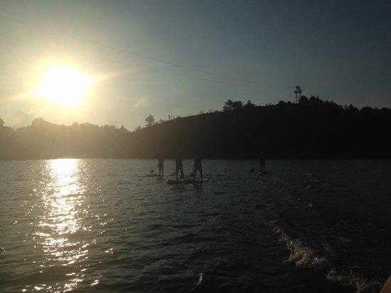 Hostal & Cabana El Trebol: Paddle Board Rentals