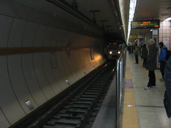 A Seoul subway map Picture of Seoul Metro Seoul TripAdvisor
