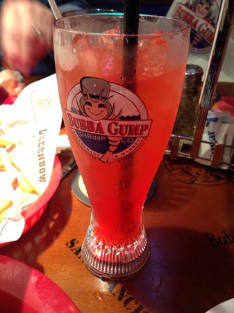 Bubba Gump Shrimp Co.: Fizzy Fun is yummy AND you get a cool glass to keep :)