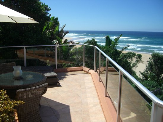 Xanadu Guest Villa: Private balcony of the Presidential Suite