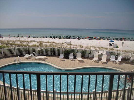 Windancer Condominiums: View from balcony