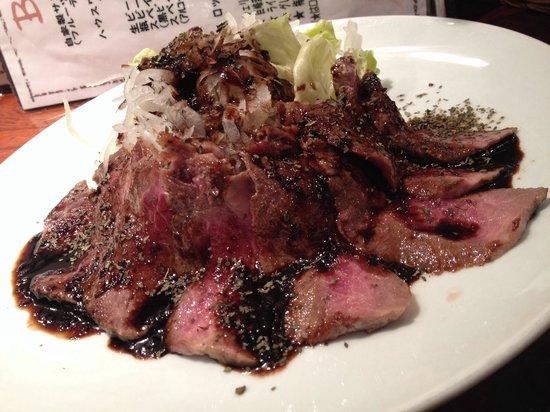 Barra Settyu : 牛肉皿だ❗️