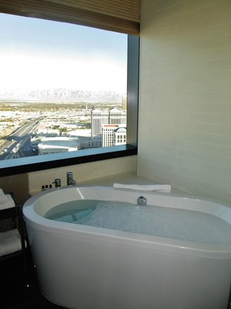 Vdara Hotel & Spa: view from tub