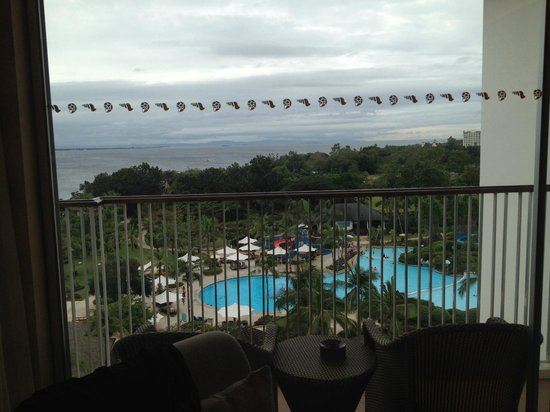 Shangri-La's Mactan Resort & Spa: view from Room 8051