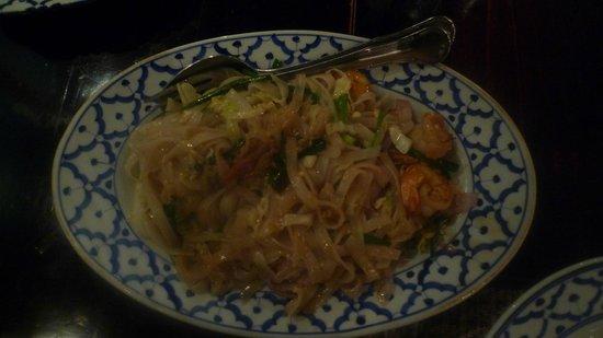 Wang Thai : Pâtes non frites crevettes desséchées