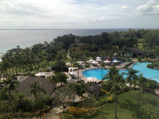 Shangri-La's Mactan Resort & Spa: view from our room 8051!