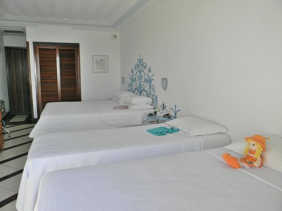 Colonna Park Hotel : Habitación con vista a Joao Fernandiño (sin balcon)