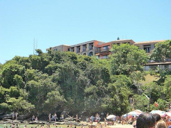 Colonna Park Hotel : Vista del Colonna Park, desde playa Joao Fernandez