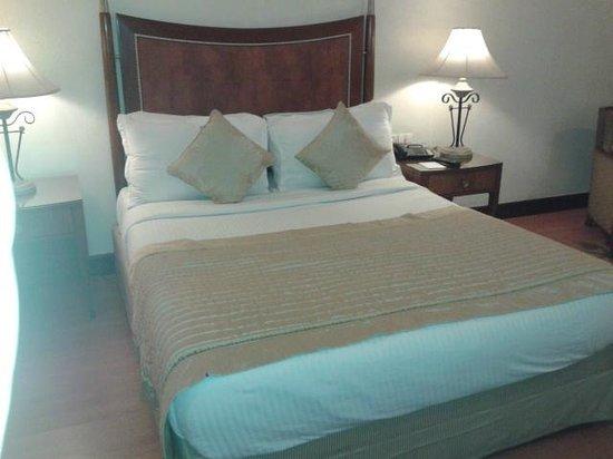 Hotel Hindusthan International Kolkata: Bed