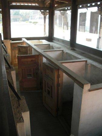 Seodaemun Prison History Hall: Women's cells.