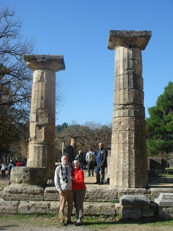 Olympic Day Tours by Niki Vlachou: Ed and Diana at Olympia WOW