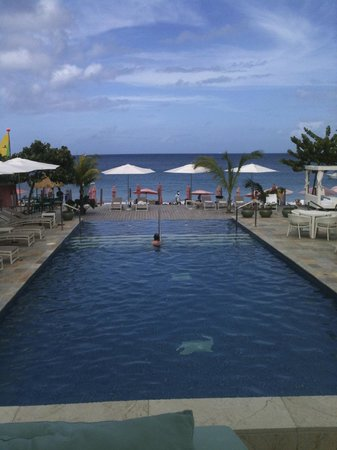 BodyHoliday Saint Lucia : My view from the Cabana