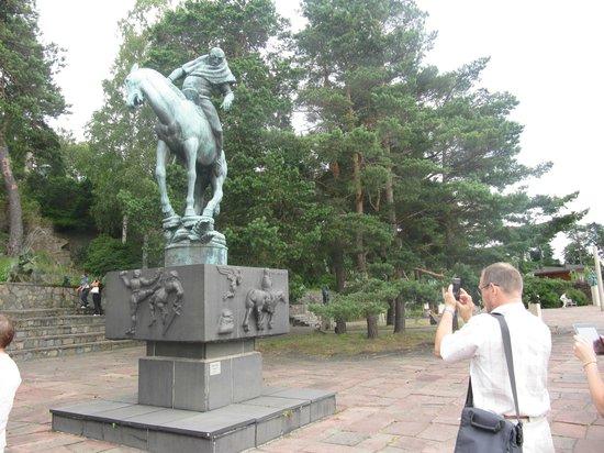 Scandic Foresta : Споткнувшаяся лошадь в Миллесгорден